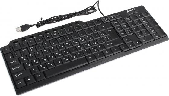Клавиатура проводная Exegate LY-501M USB черный цена 2017