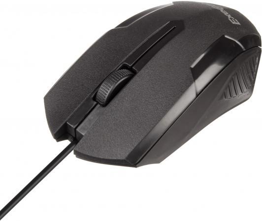 цена на Мышь проводная Exegate SH-9025 чёрный USB