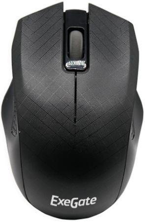 Мышь проводная Exegate SH-9027 чёрный USB цена 2017