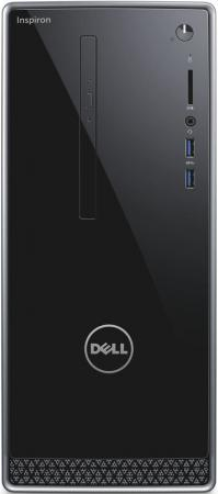 Системный блок DELL Inspiron 3668 i7-7700 3.6GHz 12Gb 1Tb GTX1050-2Gb DVD-RW Linux клавиатура мышь черный 3668-2247