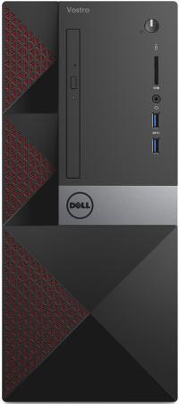 Системный блок DELL Vostro 3667 i3-6100 3.7GHz 4Gb 1Tb HD530 DVD-RW Win10 клавиатура мышь черный 3667-8109