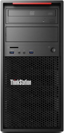 Системный блок Lenovo ThinkStation P320 i7-6700 3.4GHz 16Gb 256Gb SSD DVD-RW Win7Pro Win10Pro клавиатура мышь черный 30BH001BRU