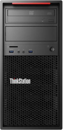 Системный блок Lenovo ThinkStation P320 i7-6700 3.4GHz 8Gb 1Tb P2000-5Gb DVD-RW Win7Pro Win10Pro клавиатура мышь черный 30BH0015RU