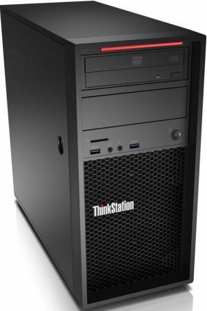 Купить со скидкой Системный блок Lenovo ThinkStation P320 i7-7700 3.6GHz 8Gb 1Tb P400-2Gb DVD-RW Win10Pro клавиатура м