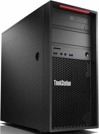 Купить со скидкой Системный блок Lenovo ThinkStation P320 i7-7700 3.6GHz 8Gb 1Tb P600-2Gb DVD-RW Win10Pro клавиатура м