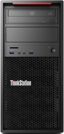 Системный блок Lenovo ThinkStation P320 E3-1225v6 3.3GHz 8Gb 1Tb DVD-RW Win10Pro клавиатура мышь черный 30BH000QRU рабочая станция lenovo thinkstation p310 30at004rru 30at004rru