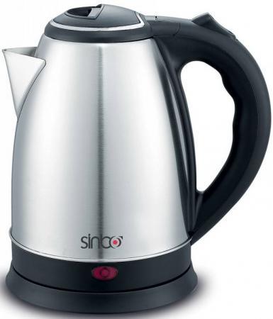 Чайник Sinbo SK 7378 1800 Вт серебристый 1.8 л металл/пластик