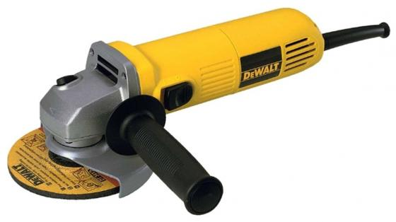 Углошлифовальная машина DeWalt DWE4015-KS 125 мм 730 Вт angle grinder dewalt dwe4015
