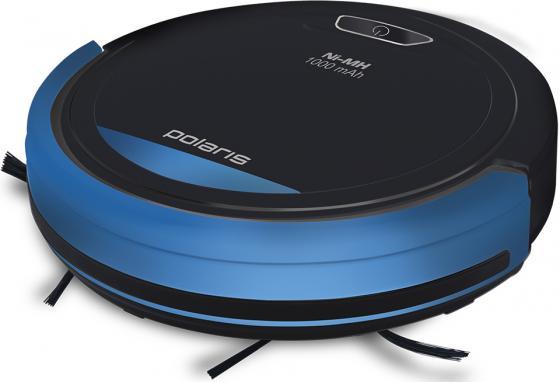 Купить со скидкой Робот-пылесос Polaris PVCR 0410 сухая уборка чёрный синий