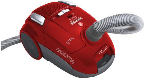Пылесос Hoover TELIOS PLUS сухая уборка красный TTE2005 019 пылесос hoover telios plus сухая уборка красный tte2005 019