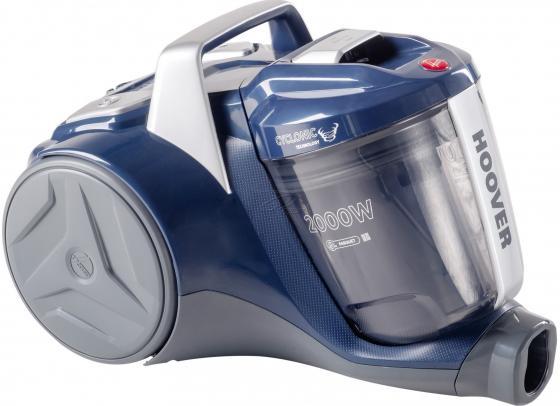 Купить со скидкой Пылесос Hoover BR2020 019 сухая уборка синий