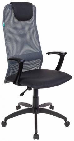 Кресло Бюрократ KB-8/DG/TW-12 серый