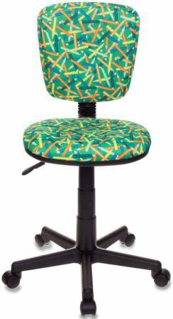 Купить со скидкой Кресло детское Бюрократ CH-204NX/PENCIL-GN зеленый карандаши