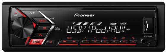 Автомагнитола Pioneer MVH-S100UI USB MP3 FM RDS 1DIN 4x50Вт черный автомагнитола kenwood kmm 103gy usb mp3 fm 1din 4х50вт черный