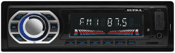 Автомагнитола Supra SFD-40U USB MP3 FM 1DIN 4x40Вт черный supra sfd 35u