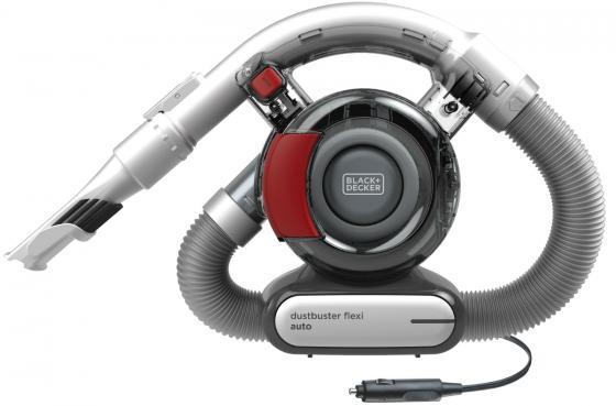 Автомобильный пылесос Black & Decker PD1200AV-XK сухая уборка серый красный держатель мобильного телефона nova bright универсальный 35 80 мм