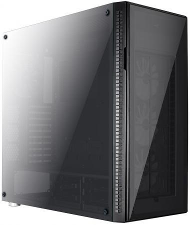 Корпус ATX Aerocool Quartz Pro TG Без БП чёрный