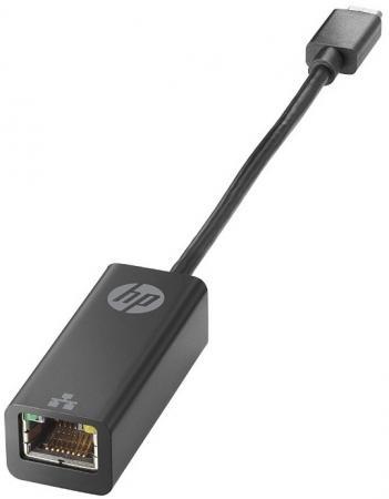 Переходник USB 3.1 Type-C на Ethernet RJ-45 10/100/1000 Mbps HP V8Y76AA цена и фото