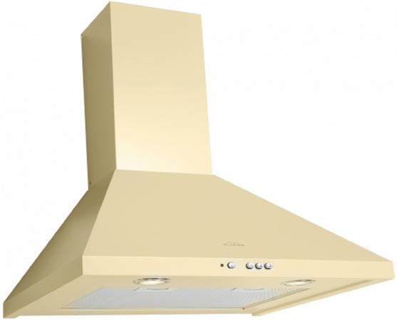 лучшая цена Вытяжка каминная Elikor Вента 60П-650-К3Д ваниль КВ II М-650-60-316