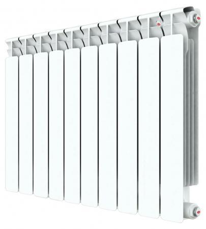 Радиатор RIFAR ALP 500 x10 НП прав (AVR) биметаллический радиатор rifar рифар b 500 нп 10 сек лев кол во секций 10 мощность вт 2040 подключение левое