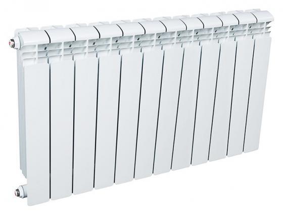 Радиатор RIFAR Alum 500 х12 сек собранный радиатор rifar в350 х12 секц rb35012 1632 вт