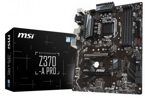 Материнская плата MSI Z370-A PRO Socket 1151 v2 Z370 4xDDR4 2xPCI-E 16x 4xPCI-E 1x 6xSATAIII ATX Retail door bell with 36 chimes single receiver waterproof plug in type wireless doorbell cordless smart door bells doorbells