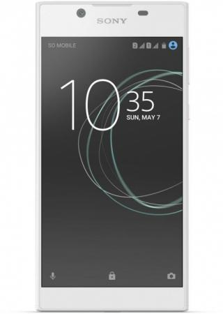 Смартфон SONY Xperia L1 Dual белый 5.5 16 Гб NFC LTE Wi-Fi GPS 3G G3312White фотоаппарат sony ilca 68k black 24 5mp sdxc wi fi nfc [ilca68k cec] сменная оптика