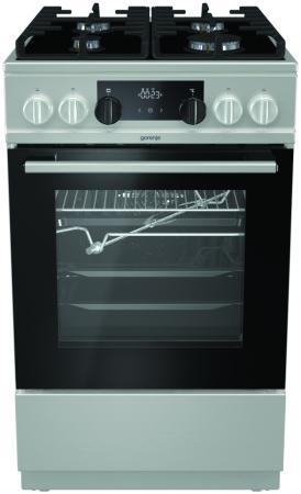 Комбинированная плита Gorenje KC5355XV серебристый цена и фото