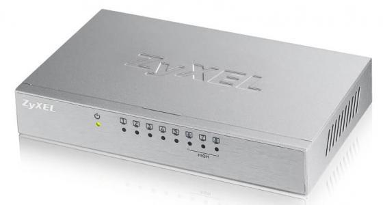 Коммутатор Zyxel ES-108A V3-EU0101F неуправляемый 8 портов 10/100Mbps коммутатор zyxel es 105a v2 неуправляемый 5х100base t