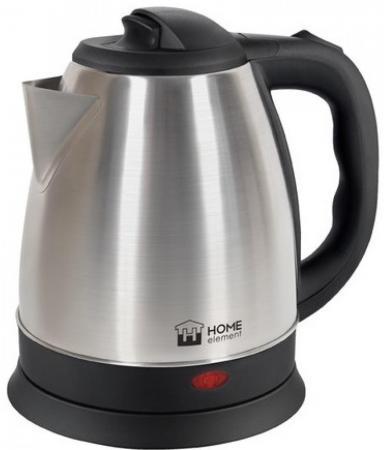 Чайник HOME ELEMENT HE-KT175 1800 Вт чёрный стальной 1.7 л нержавеющая сталь