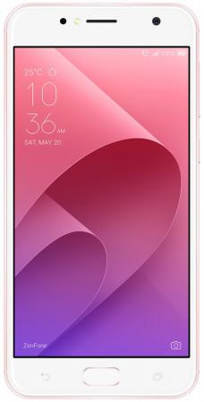 Смартфон ASUS Zenfone ZF 4 Live ZB553KL розовое золото 5.5 16 Гб NFC LTE GPS Wi-Fi 3G 90AX00L3-M01110 смартфон asus zenfone zf3 laser zc551kl золотистый 5 5 32 гб wi fi lte gps 3g 90az01b2 m00050