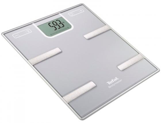 Весы напольные Tefal BM6010VO серебристый весы напольные tefal pp1063