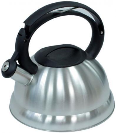 Чайник Катунь KT 107 чёрный белый 3 л нержавеющая сталь чайник kitchenaid kten20sbob чёрный 1 9 л нержавеющая сталь