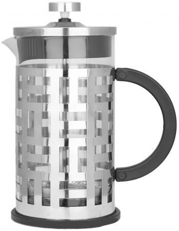Френч-пресс Zeidan Z4148 серебристый 1 л металл/стекло