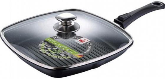Сковородка-гриль Wellberg WB-2387 24 см алюминий