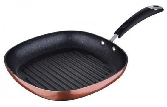 Сковородка-гриль Bergner BG-6247-CP Pandora 28 см алюминий ковш bergner pandora 16 см