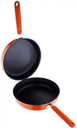 Сковорода двойная Wellberg WB-2381 26 см алюминий