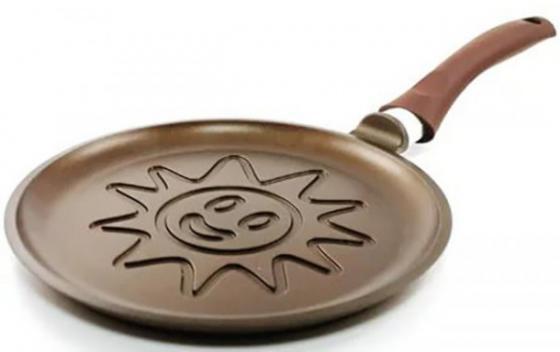 Сковорода Нева-Металл PG 6224 Золотая жемчужина Солнце 24 см