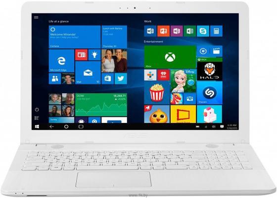 Ноутбук ASUS R541UJ-GQ505T 15.6 1366x768 Intel Core i3-6006U 1 Tb 4Gb nVidia GeForce GT 920M 2048 Мб белый Windows 10 Home 90NB0ER2-M08250