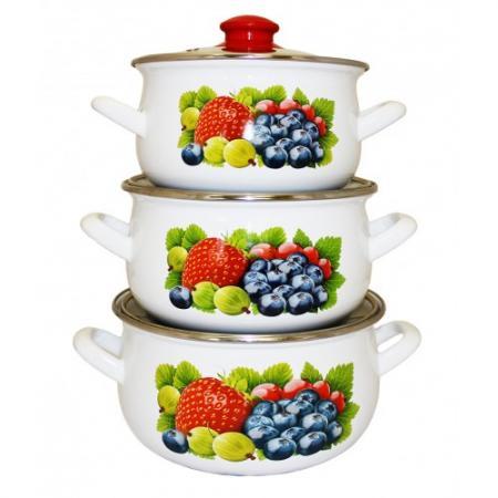 Набор посуды Interos 16012 Фреш