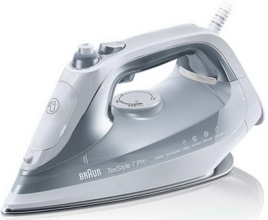 Утюг Braun SI 7088 GY 2800Вт белый серый