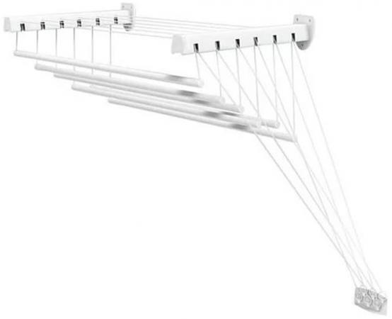 Сушилка для белья Gimi Lift 140 настенная сушилка д белья gimi lift 160 9 5м настенно потолочная