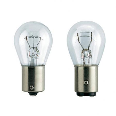 Лампа галогеновая W21W (Clearlight) 12V (блистер 2 шт.) лампа py21w clearlight 12v bau15s 2 шт
