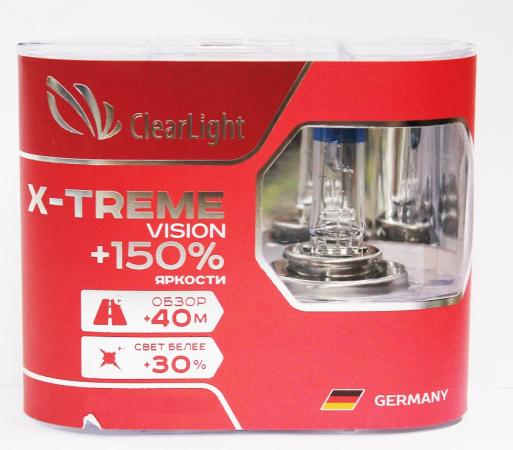 Комплект ламп галогненовых HB4(Clearlight)12V-51W X-treme Vision +150% Light (2 шт.) blinder m45 x treme