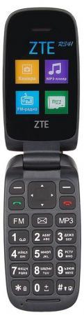 Мобильный телефон ZTE R341 черный 1.8 32 Мб мобильный телефон fly ff178 белый 1 77 32 мб
