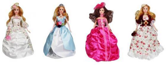 """Платье для кукол Shantou Gepai """"Роскошное"""" в ассортименте M6819 платье для кукол shantou gepai"""