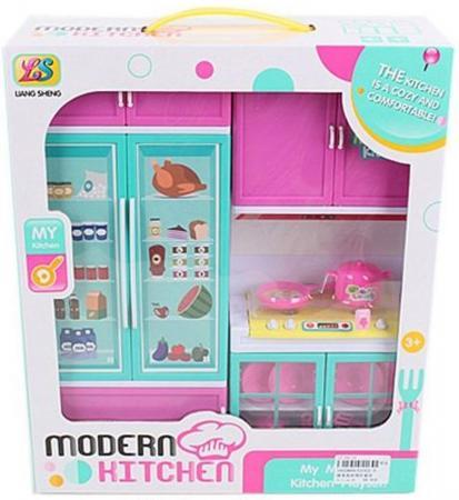 Кухня Shantou Gepai Modern Kitchen с холодильником