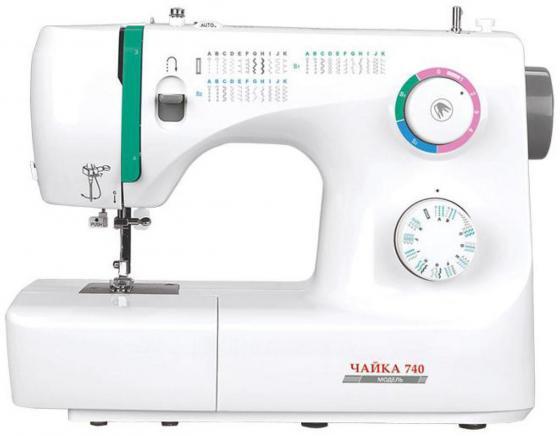 Швейная машина Chayka Чайка 740 белый швейная машинка chayka new wave 715