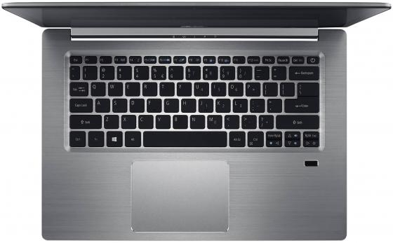"Ноутбук Acer Aspire Swift SF315-51G-59BF 15.6"" 1920x1080 Intel Core i5-7200U 256 Gb 8Gb nVidia GeForce MX150 2048 Мб серебристый Windows 10 Home NX.GQ6ER.002"