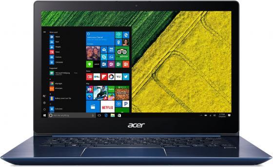 Ноутбук Acer Aspire Swift SF314-52-50Y1 14 1920x1080 Intel Core i5-7200U 256 Gb 8Gb Intel HD Graphics 620 синий Windows 10 Home NX.GPLER.006 ноутбук acer swift sf314 54 57al 14 1920x1080 intel core i5 8250u 256 gb 8gb intel uhd graphics 620 розовый windows 10 home nx gyqer 006